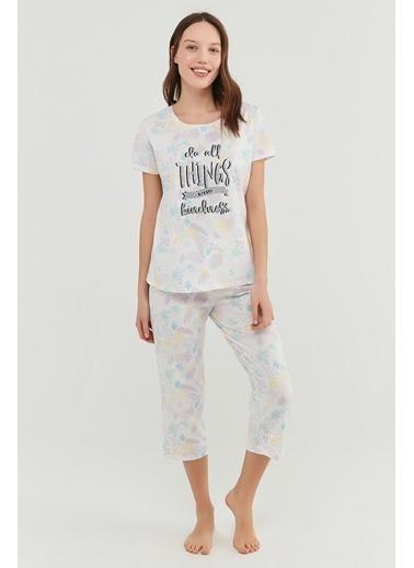 Penti Kindne Kapri Takımı  Kadın  Pijama Takımı  Ana Kumaş Cotton 100,00 Ana Kumaş Cotton 100,00   Renkli